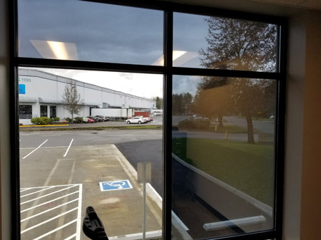Commercial Window Tinting Puyallup
